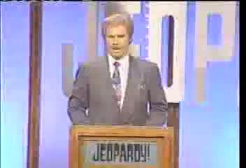 Celebrity Jeopardy 8. welcome back to Celebrity Jeopardy.
