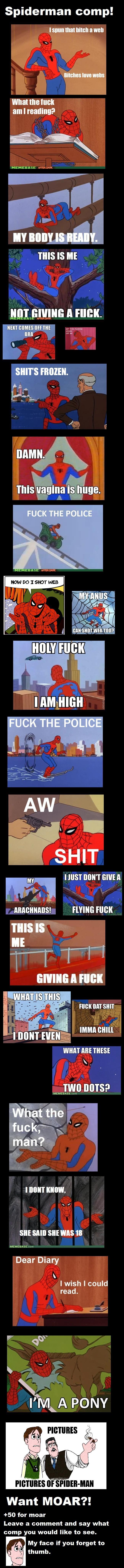 "80's Spiderman comp. . Spiderman comp.' mun am I reading? MEMEBASE rum! THIS IS ME I A ite' THIS IS ruck mun we want an ms: TIMI} INNS? MEMEBASE com I III!"" KIW 80's Spiderman comp ' mun am I reading? MEMEBASE rum! THIS IS ME A ite' ruck we want an ms: TIMI} INNS? com III!"" KIW"