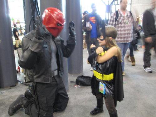D'awww. Cute Jason Todd / Batgirl pic.. HFW red hood batgirl