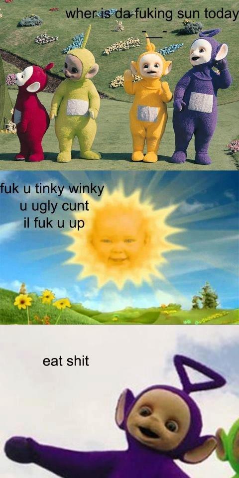 da fuking sun. fuk mane. da fuking sun fuk mane