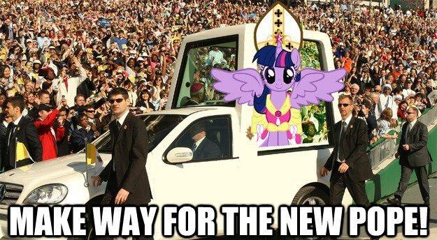 da new pope .3.. . da new pope 3