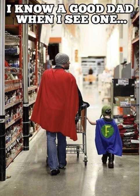 Dads. . cool dad super hero