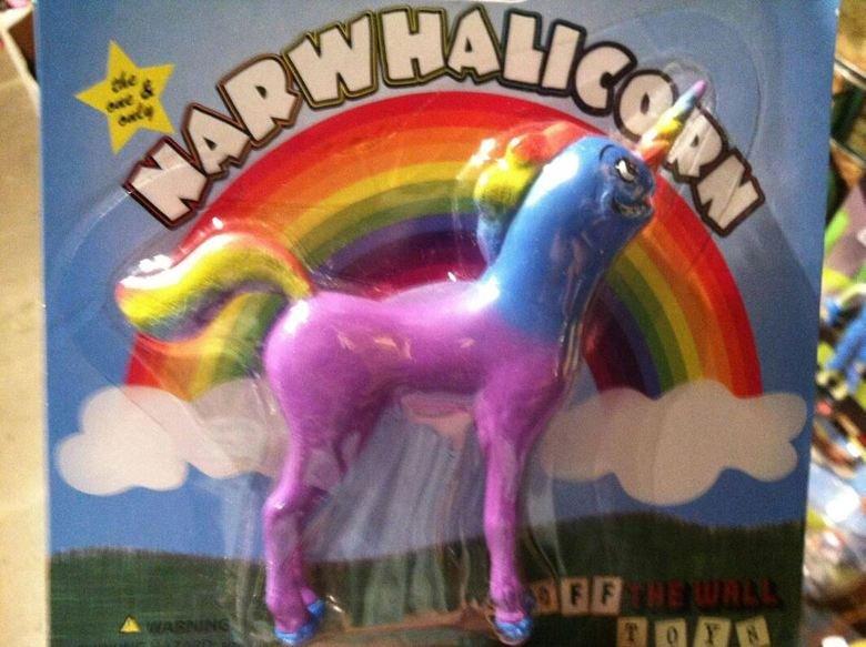Dafuq?. .. I want thousands of those..... narwhalicorn