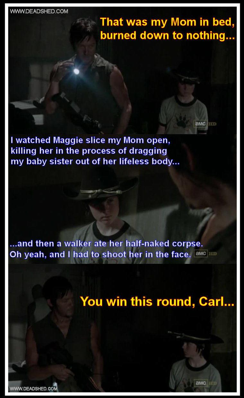 Daryl vs carl. . Daryl vs carl