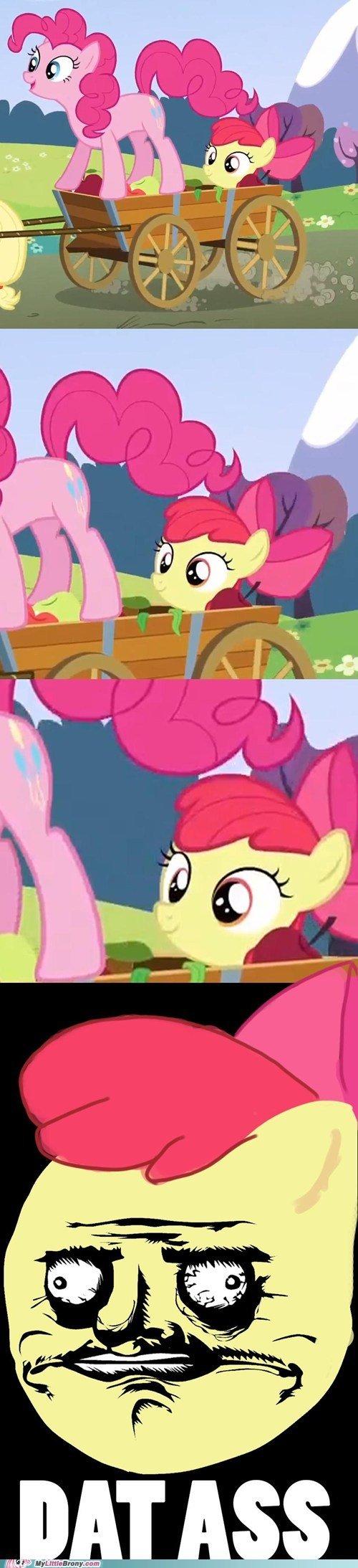 Dat ass. .. that's a mare, not an ass Dat ass that's a mare not an
