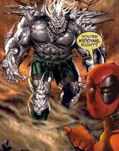 Deadpool vs Doomsday. . Deadpool vs Doomsday