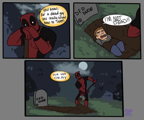 Deadpool. .. >Deadpool Content Deadpool