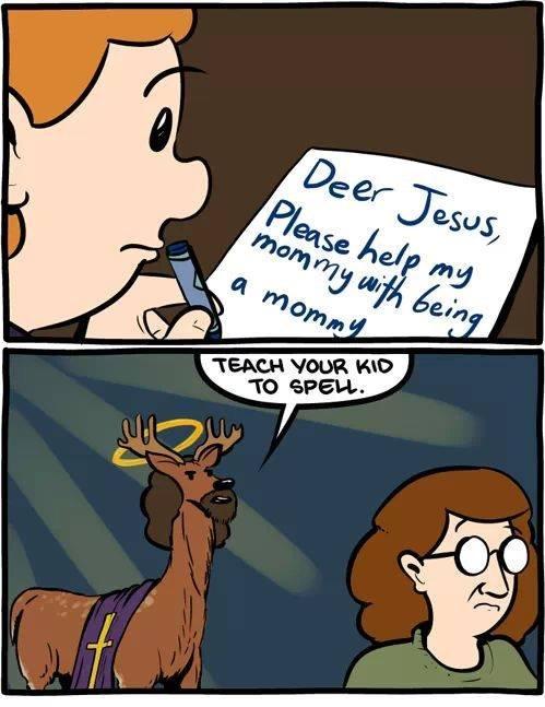 Deer Jesus. . Deer Jesus