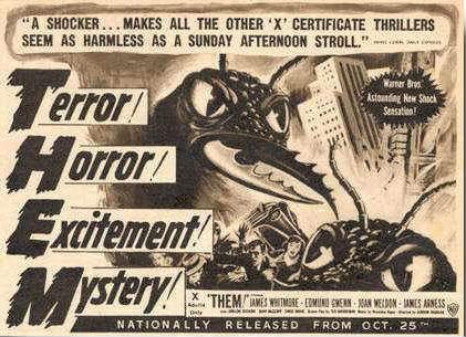 dem ants. the terror!. ants