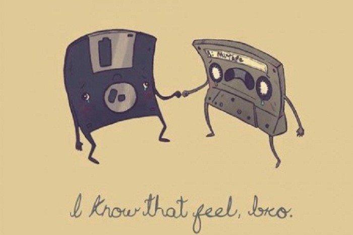 dem feels for technology. dem feels. feels
