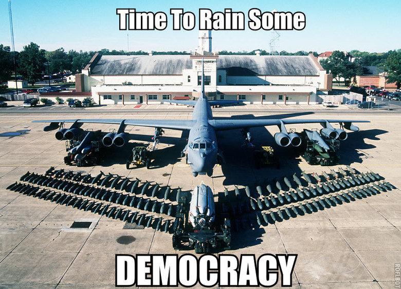 Democracy. 'Murica!. Murica