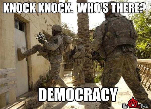 DEMOCRACY. . DEMOCRACY