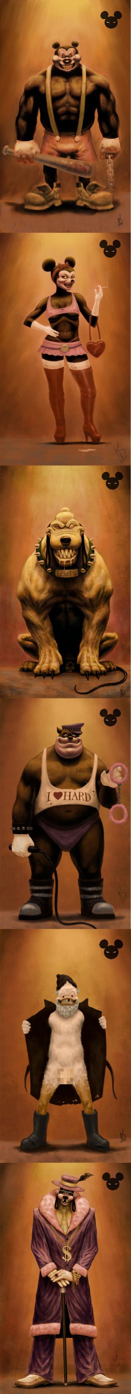 Disney Characters Reimagined. .. It's Goofizzle. Disney Characters Reimagined It's Goofizzle