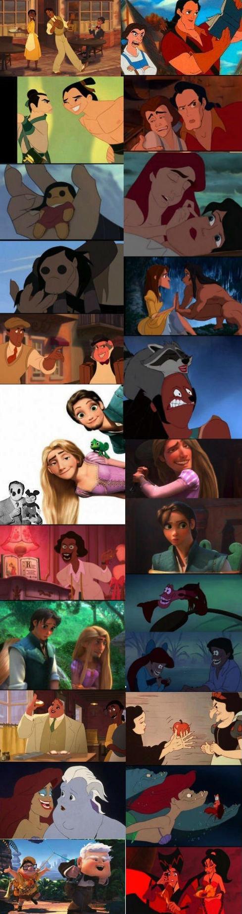 Disney face swap comp. .. wait who's face when? Disney face swap comp wait who's when?
