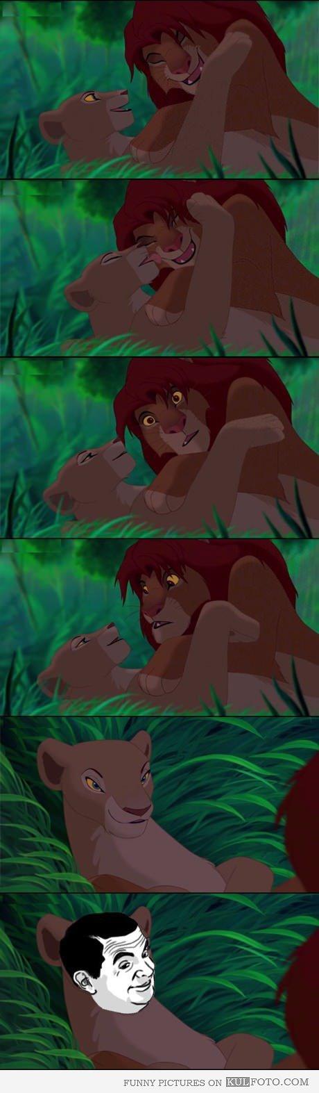 Do it Simba. Not mine..