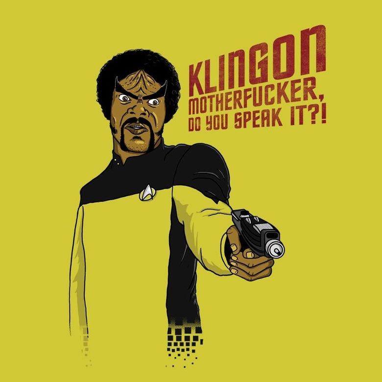 Do You?!. . Star Trek samuel l jackson pulp fiction