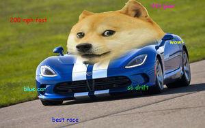 DOge. wow skill doge.. I need more doge. drift doge Cars
