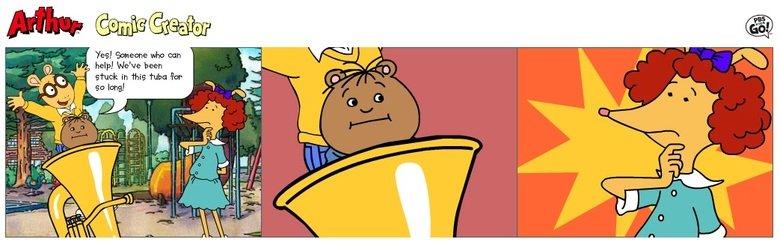 Don't Ask. . arthur arthur comics