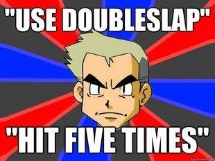DoubleSlap. hangadingerdurgin. DoubleSlap hangadingerdurgin