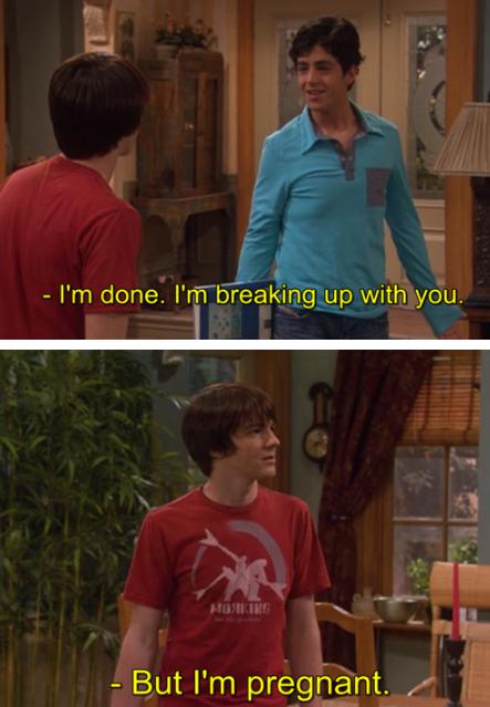 Drake & Josh. . I' m thone. I' m breaking up with you.. Josh's FW Drake & Josh I' m thone breaking up with you Josh's FW