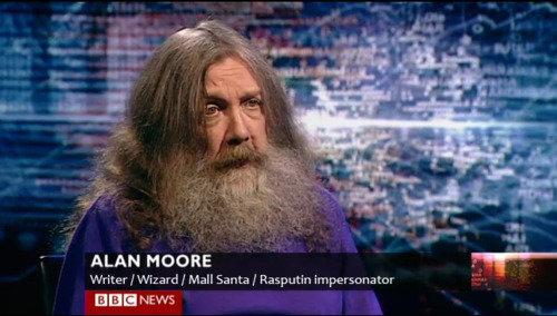 Dream Job. . ALAN MOORE Writer I Wizard/ Mail Santa I Rasputin impersonator EBB NEWS. fix'd Dream Job ALAN MOORE Writer I Wizard/ Mail Santa Rasputin impersonator EBB NEWS fix'd