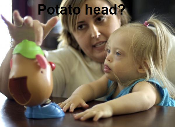 Duble potato. Mr. and Ms Potato. Duble potato Mr and Ms Potato