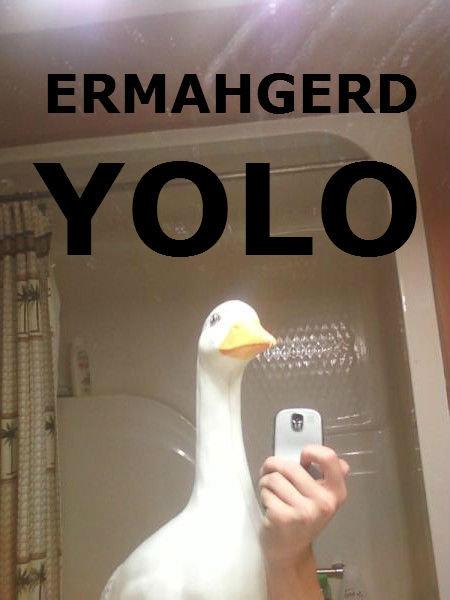 Duckface. Yo Bitch.. Has science gone too far? heisenberg