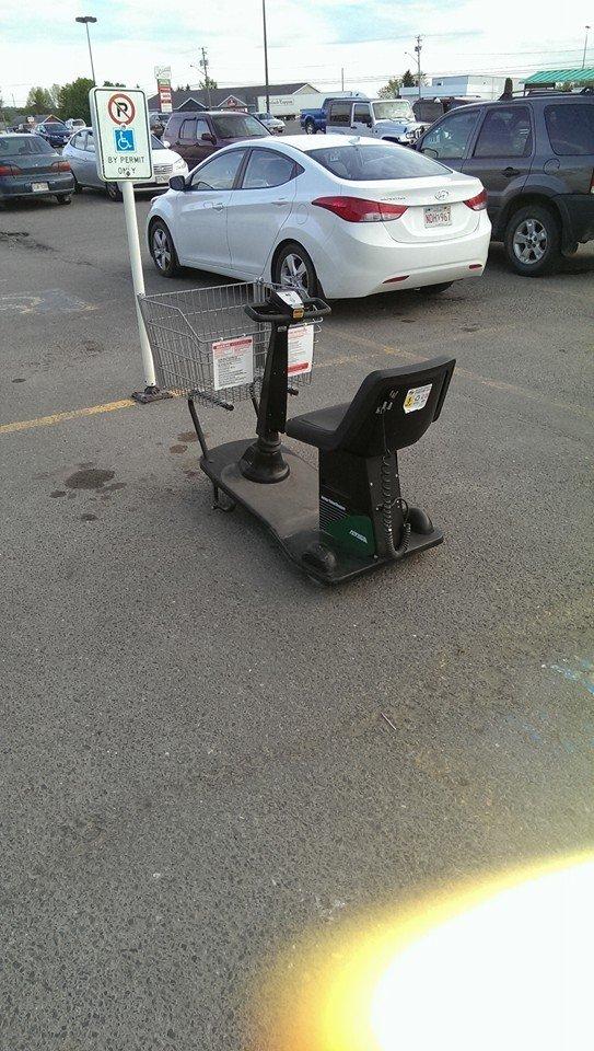 Handicap parking at its finest!. . handicap parking