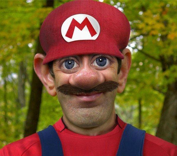 Handsome Devil!. .. .....wat? Not so super Mario