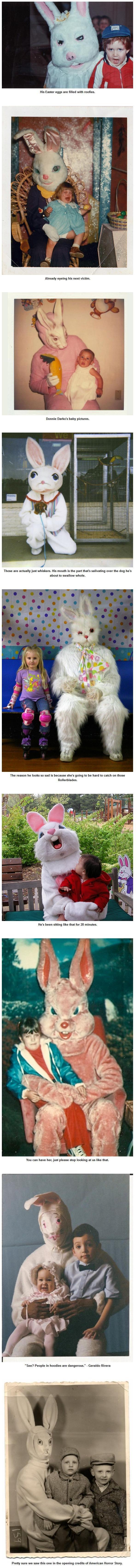 Happy Easter #4. .. mfw donnie darko Happy Easter #4 mfw donnie darko