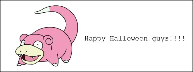 Happy Halloween!. . Happy Halloween!