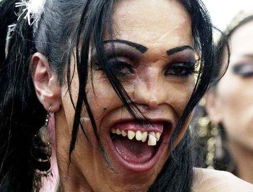 happy tranny. . happy tranny WTF fail Ugly fugly