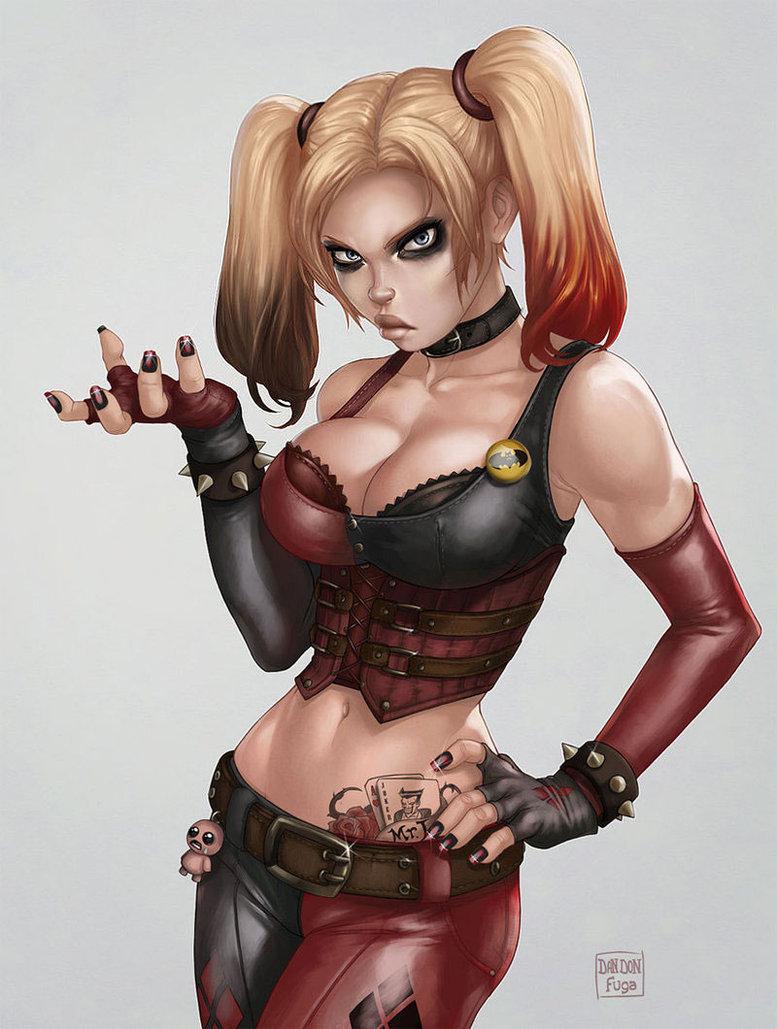 Harley Quinn. Harley Quinn. Damn fine artwork here.. Harley Quinn Damn fine artwork here