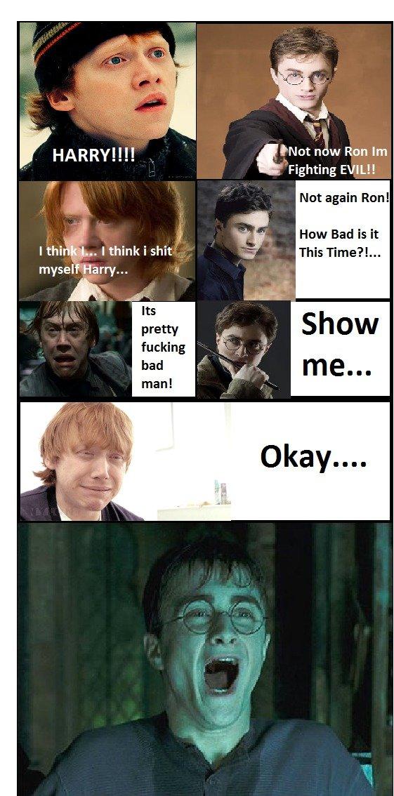 "Harry... I think i shit myself. OC i made . tnot Ron Fighting , HARRY! I I! it Not again Run! t . How Bad is it doits ""Abc-.. lol wut Harry I think i shit myself OC made tnot Ron Fighting HARRY! I! it Not again Run! t How Bad is doits ""Abc- lol wut"