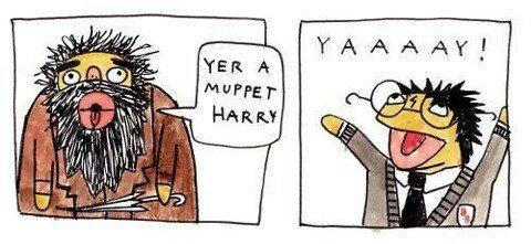 Harry Puppet. sauce: imgur. Harry Puppet sauce: imgur