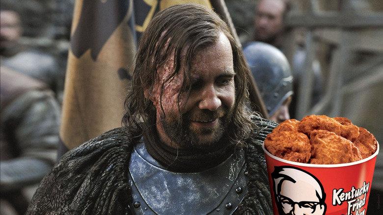 He wants the C. . game of thrones Sandor Chicken KFC bjerneironbeard