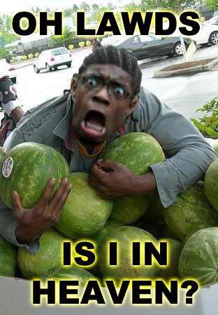 Heaven. Dis Iz Heaven. heaven OH LAWD black guy watermelons black balloon gu