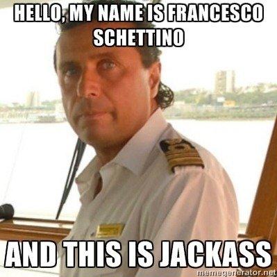 HELLO GOIS. Jackass, fell into the life boat lol.. I loled :D ne ne ne ne ne n