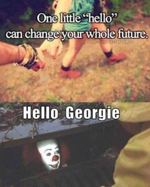"Hello. . fl I I tr idioit. itd q T"".. clown hello"