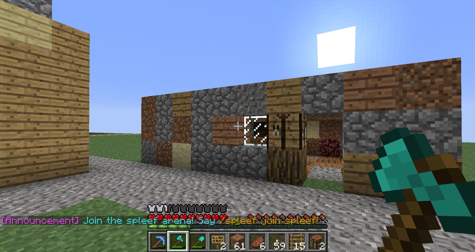 hey guys do you like my house. .. Beautiful Minecraft