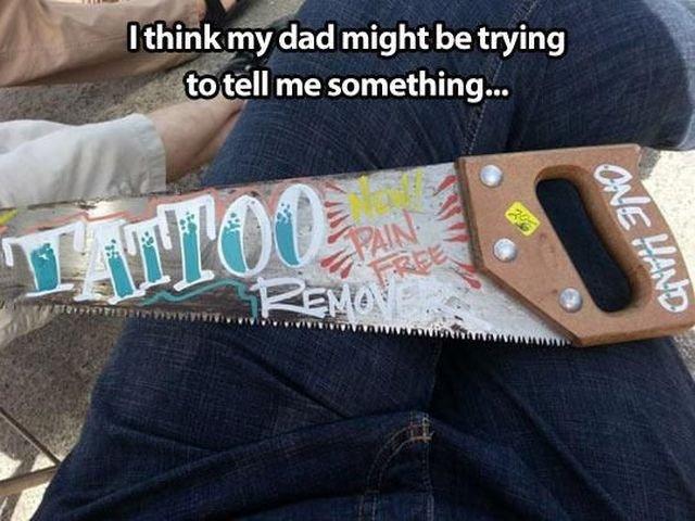 Hint-Hint. . dad might be trying '':lli, gt-:' T' mill me something... asdasdasdas