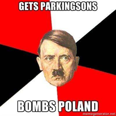 Hitler. Because jews. hitler jews park