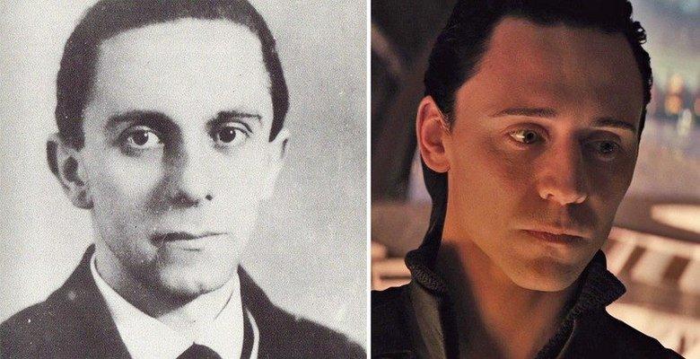 Hmmm.... . look alike