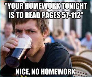 Homework.... . Homework