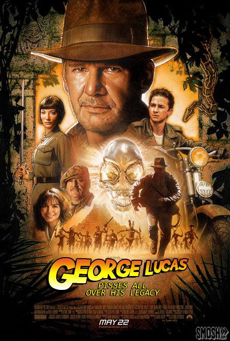 Honest Indy. Speaks for itself.... FEE honest Indiana Jones George Lucas shit