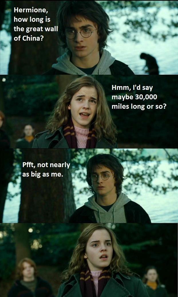 Horny Potter. OC.. me gusta Horny potter