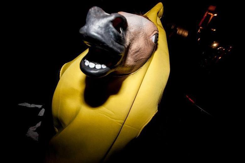HUE. banana horse. HUE banana horse