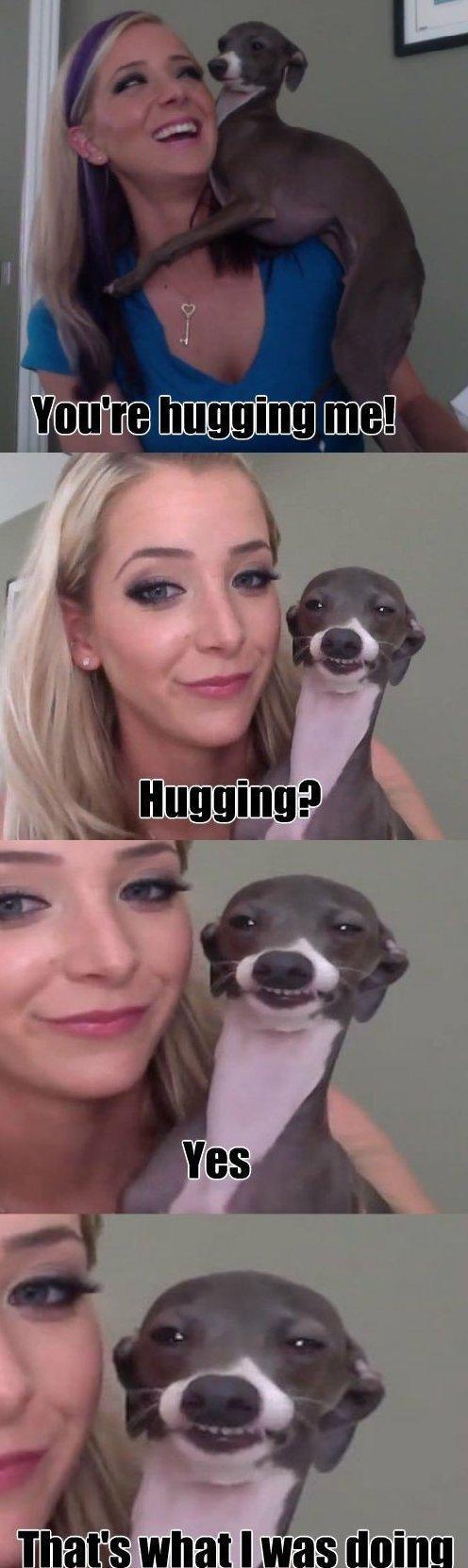 hugging. .. You lucky bastard. hugging You lucky bastard
