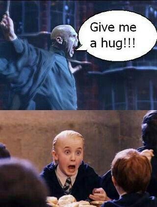Hugz!. Makes me laugh every time. hugs Harry Potter