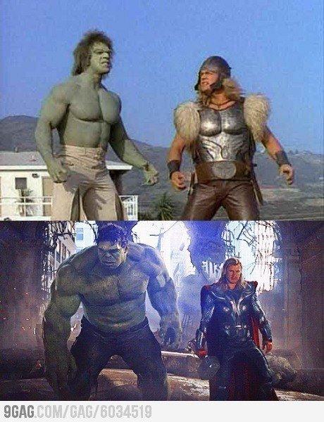 Hulk and thor. . Hulk and thor